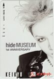 hide MUSEUM 1st ANNIVERSARY 京急 パスネット1000